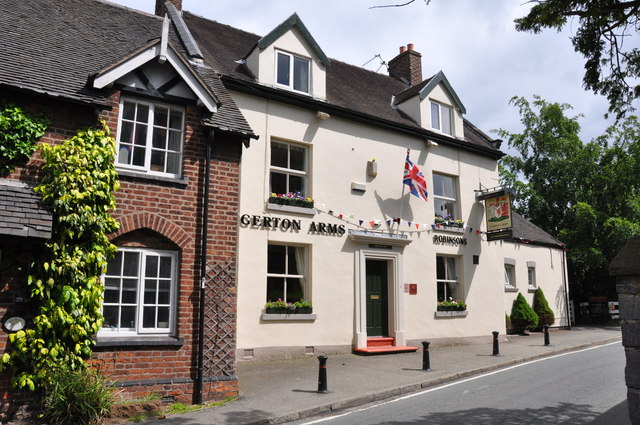 The Egerton Arms in Astbury