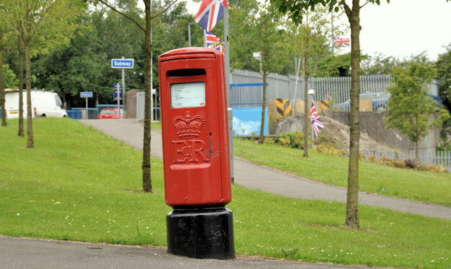 Pillar box, Tullycarnet, Belfast