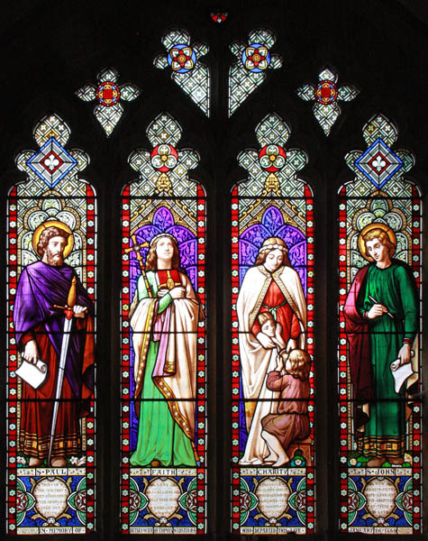 St Dunstan, Cranbrook - Stained glass window