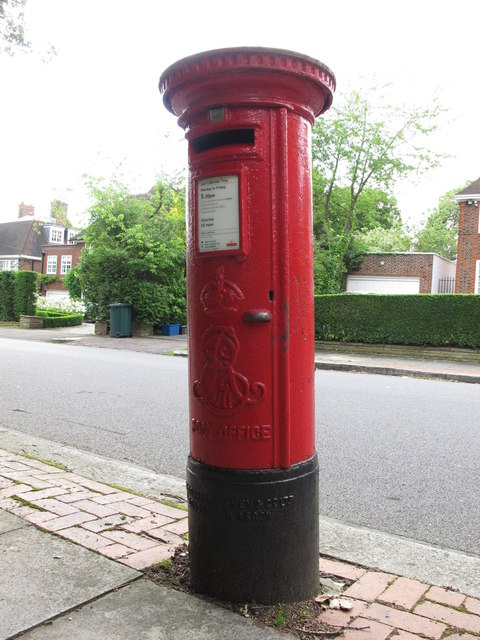 Edward VII postbox, Ingram Avenue, NW11