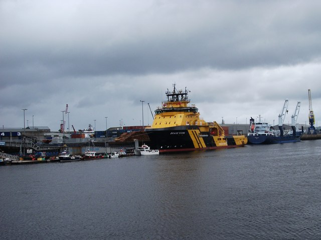 Brage Viking in Aberdeen