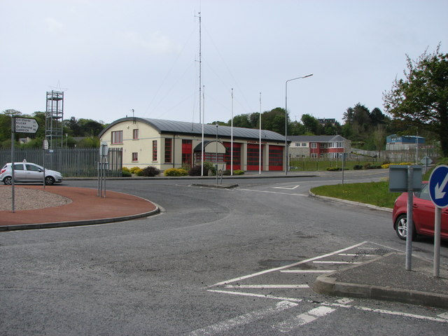 Killybegs fire-station