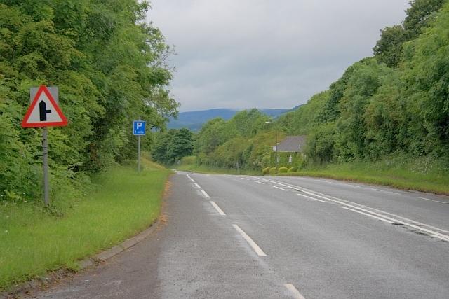 A6187 Approaching Hillfoot