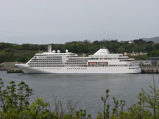 The Silver Whisper cruise liner