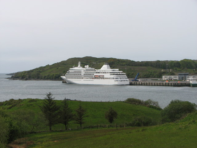 Cruise liner, Killybegs