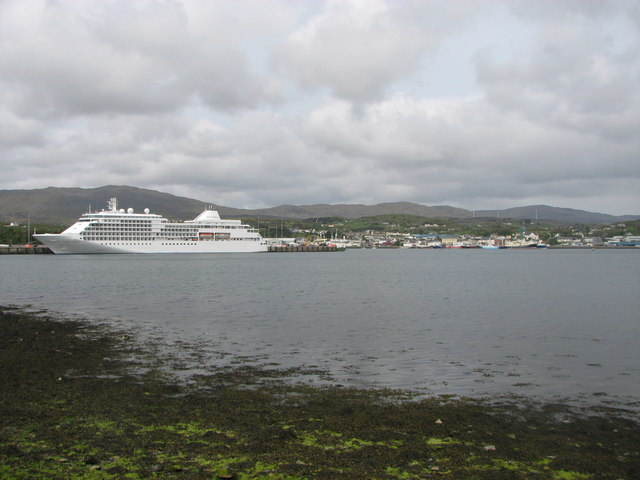 Cruise ship, Killybegs