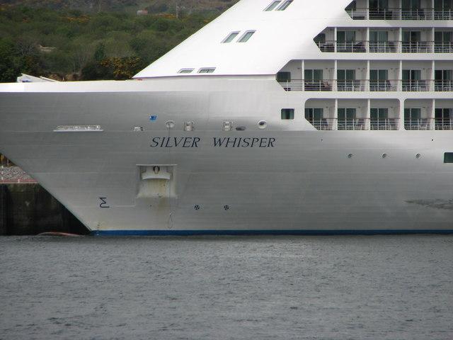 Silver Whisper detail