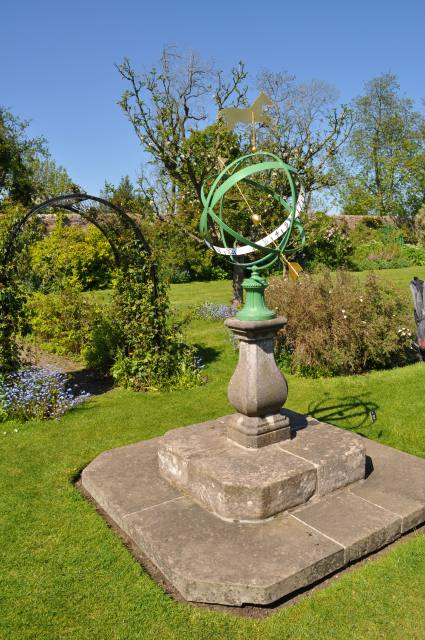Sundial in Kellie Castle Gardens