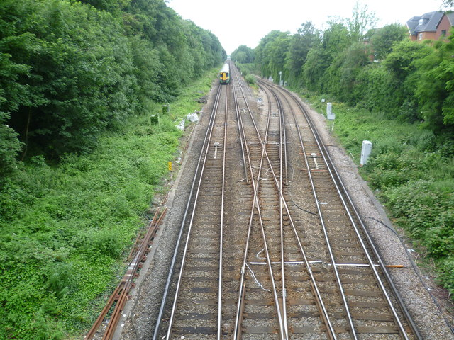 Looking west from Bridge Road, Sutton