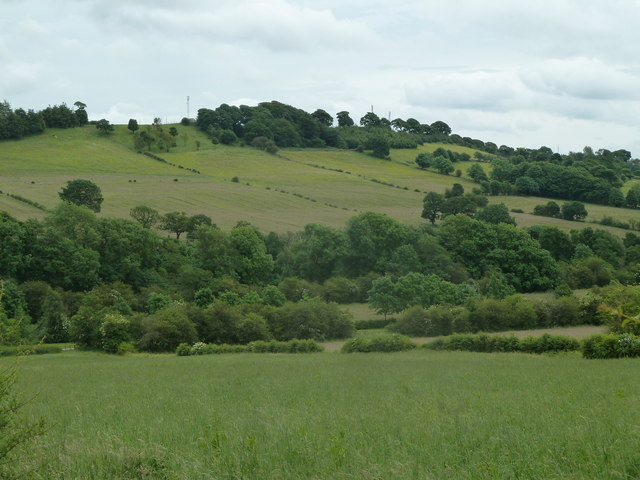 Valley view near Ogston