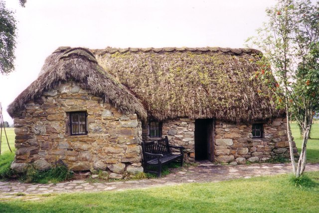 Old Leanach Cottage 169 Ruth Riddle Geograph Britain And
