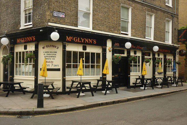 """McGlynn's"" public house, near King's Cross"