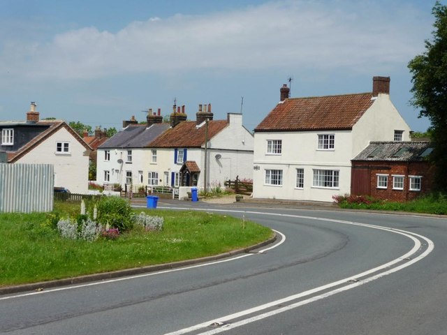 Houses at the top of Church Hill