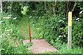 SP9341 : Path towards the Cranfield Road by Philip Jeffrey