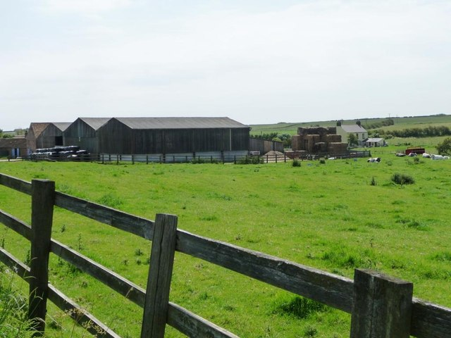 Buildings at Grange Holme Farm, Buckton