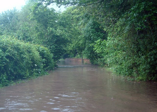Floods in Fish House Lane