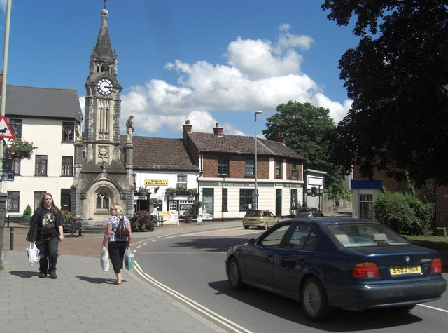 Lowman Green Clock Tower and Station Road