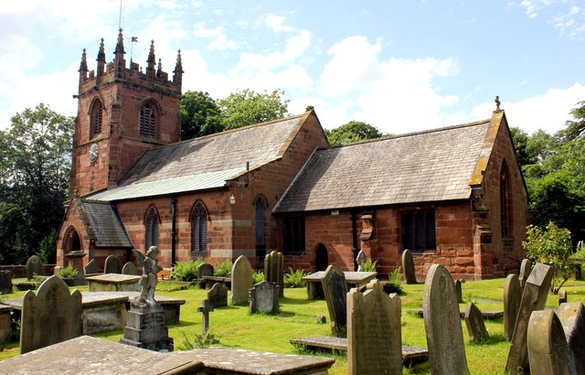 St Oswald's Church, Backford