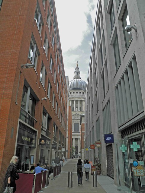 St. Paul's from Newgate