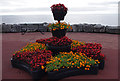 SD4565 : Floral display, Morecambe Promenade by Ian Taylor