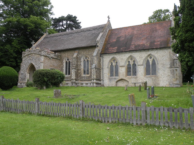 St. Mary; the parish church of Coney Weston