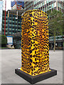 TQ2982 : Leopard print Artbox by Stephen Craven