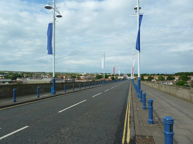 Pudding Lane, Royal Tweed Bridge, Berwick-Upon-Tweed