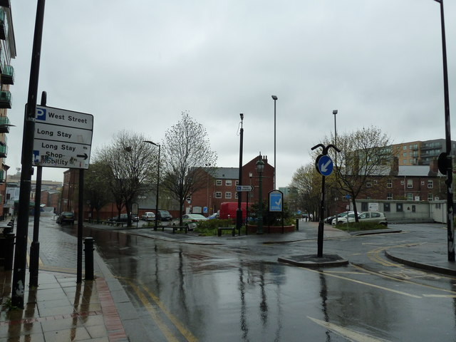 Car park just off West Street