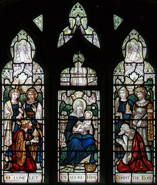St Paul, Cross Road, Woodford Bridge - Stained glass window