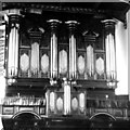 TL4458 : Trinity College organ in 1972 by Tiger