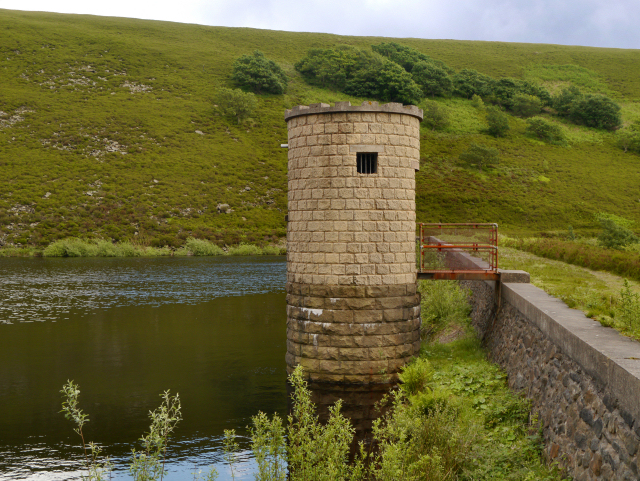Valve Tower, Cowbury Reservoir