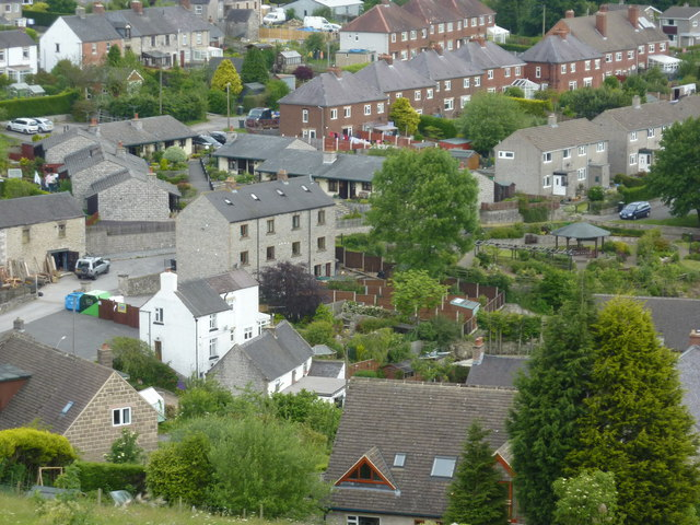 Middleton, seen from above