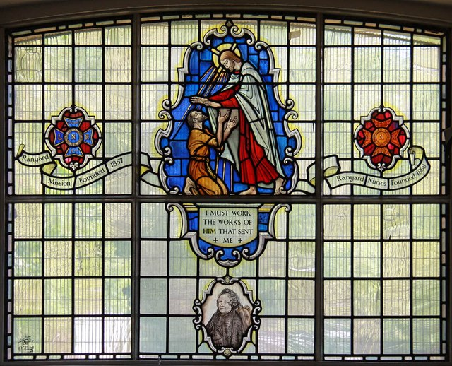 St Mark, Kennington Park Road - Stained glass window