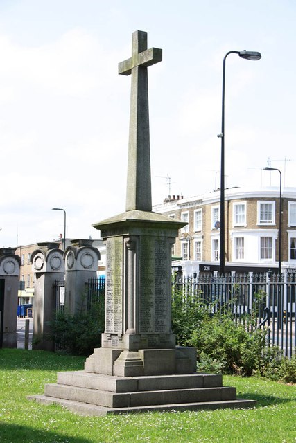 St Mark, Kennington Park Road - Memorial