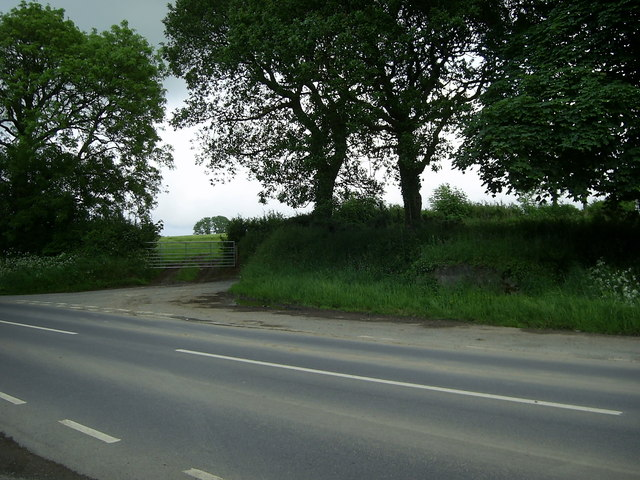 Road junction near Clarbeston Road
