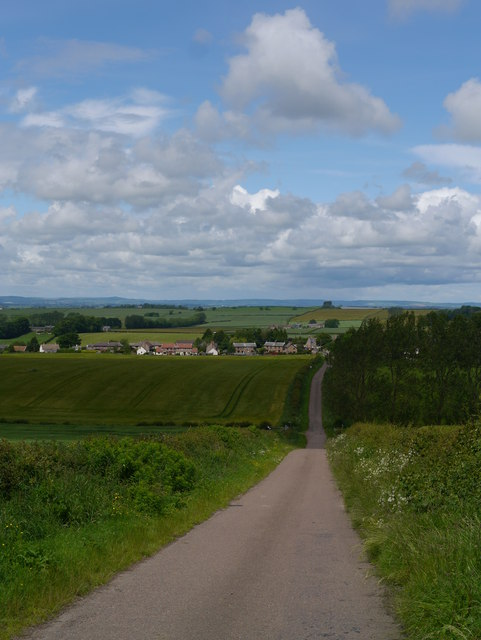 Downhill To Branxton