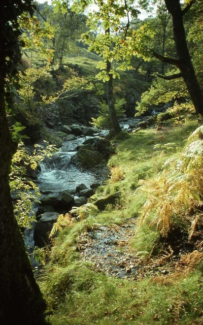 Hause Gill near Seatoller, The Lake District