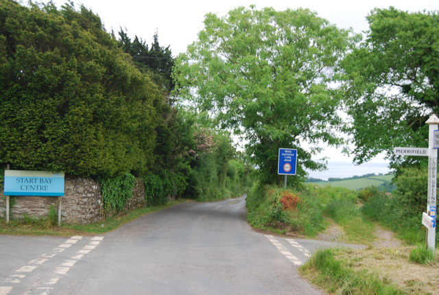 Lane to Slapton, Lower Green Cross