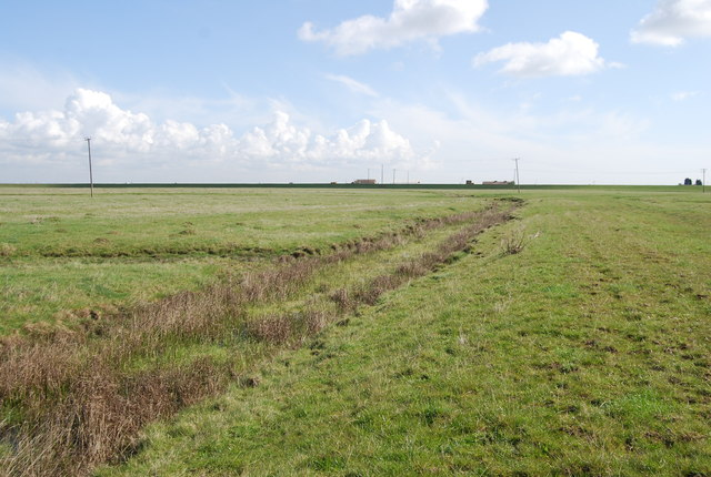Old drainage channel