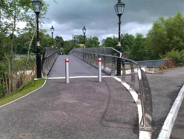 New footbridge, Irishtown, Omagh