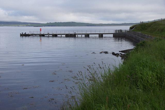 Billister pier, North Nesting