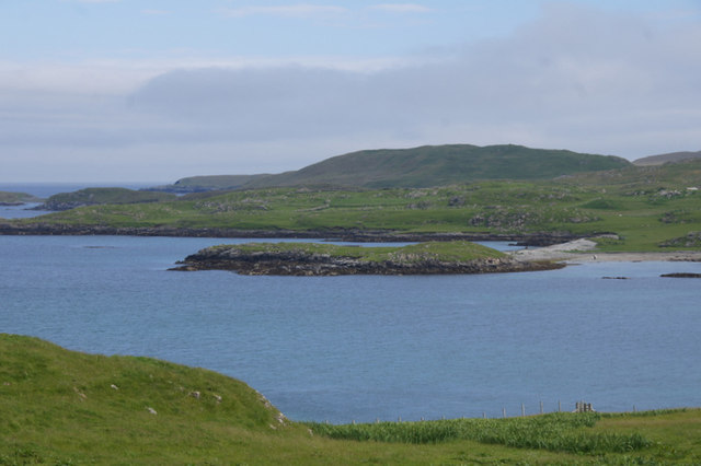 Calf Holm, East Voe of Skellister