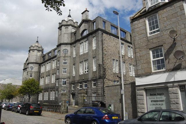 Former Frederick Street School, Aberdeen