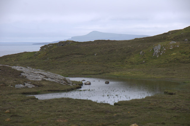 Lochan on the road to Gletness, South Nesting