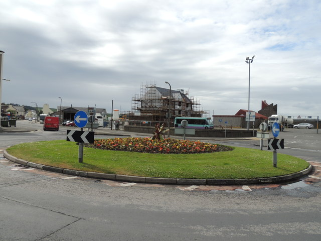 Roundabout at Port Rodie