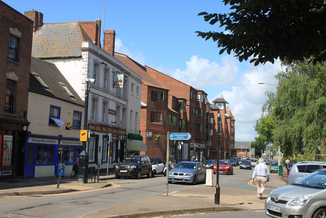 Lower Westgate Street in Gloucester