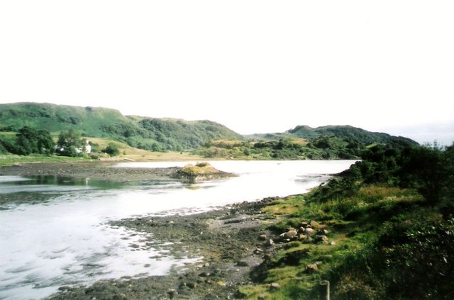 "Narrows between Seil and ""The Mainland"""