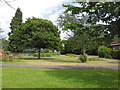 TQ4066 : Public gardens adjacent to the library by Basher Eyre