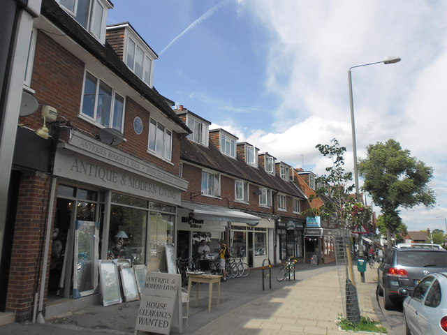 Shops in Hayes Street