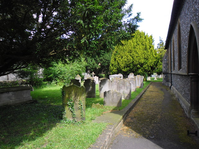 A mid summer visit to St Mary the Virgin,Hayes (l)